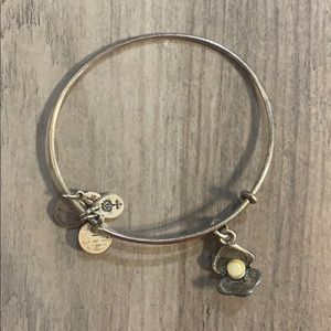 Alex and Ani Pearl Bracelet